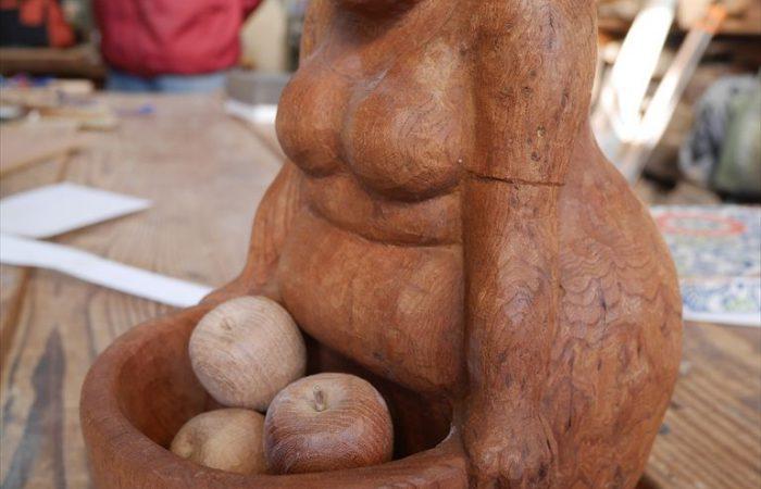 欅の木の人形(Sさん)