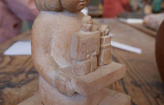 栃の木の人形(Sさん)