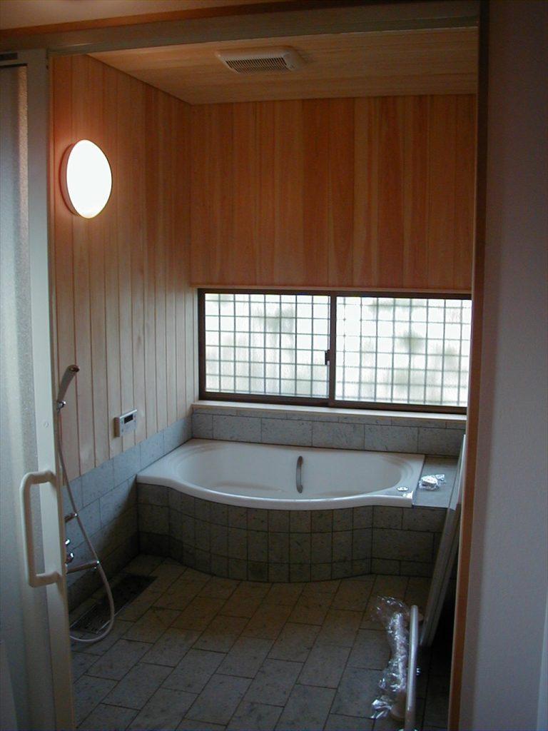 十和田石の風呂